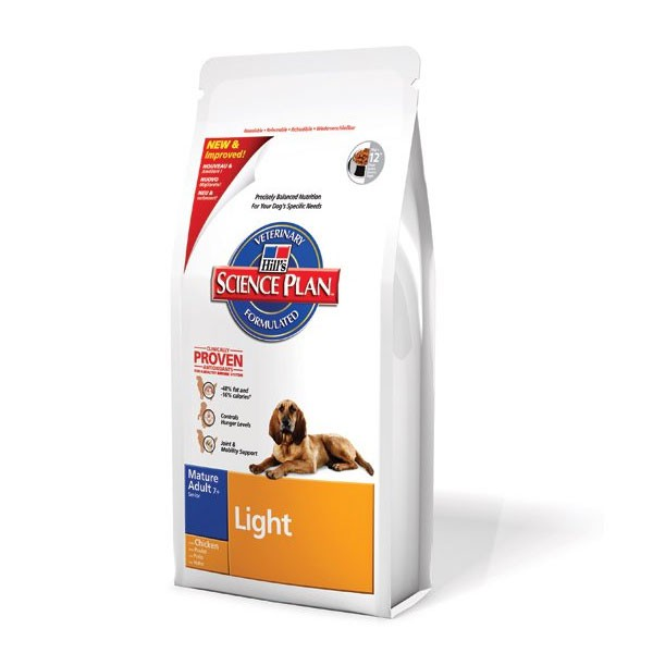 Hill's Canine Mature Adult 7+ Light mit Huhn