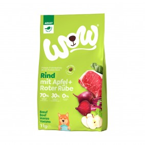 WOW Minis Adult Rind 1kg