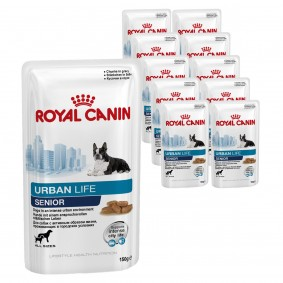 Royal Canin Hundefutter Urban Senior Dog 10x150g