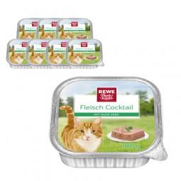 REWE Beste Wahl Katzenfutter Fleisch Cocktail mit Aloe Vera