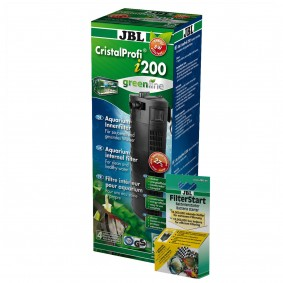JBL CristalProfi i200 greenline + Filterstart 10ml gratis