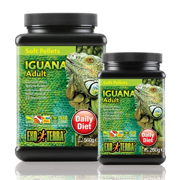 Exo Terra Soft Pellets Iguana Adult