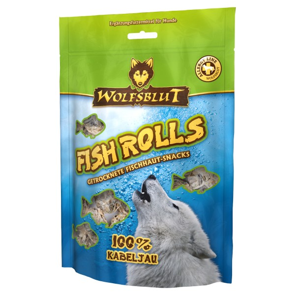 Wolfsblut Fish Rolls Kabeljau 100g
