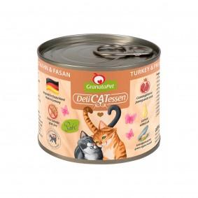 GranataPet Katze - Delicatessen Dose Truthahn & Fasan
