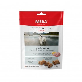 MERA pure sensitive goody snacks Truthahn&Kartoffel
