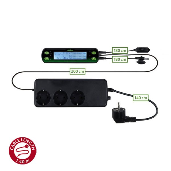 Reptiland Thermomètre / hygromètre numérique