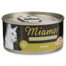 Miamor Feine Filets Naturelle Huhn Pur 80g Dose