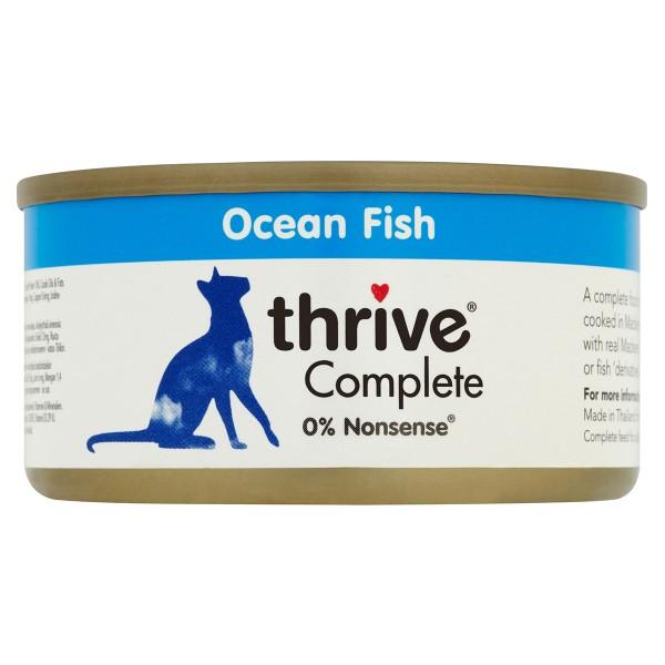 thrive Cat Complete Seefisch 12x75g