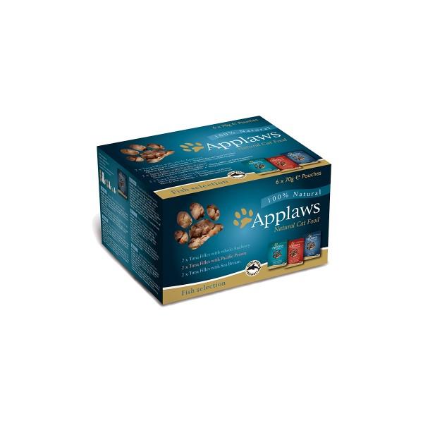 Applaws Cat PB Mix Pack Fisch