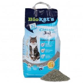 Biokat's Klumpstreu Classic Fresh 3 in 1 Cotton Blossom