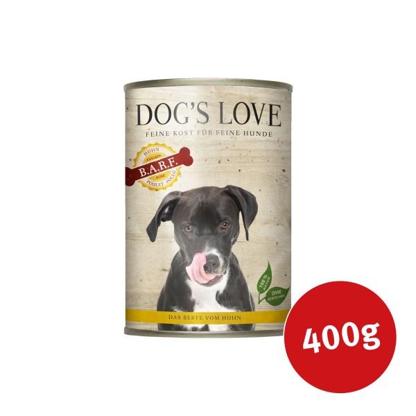 Dog's Love Nassfutter B.A.R.F. Huhn Pur