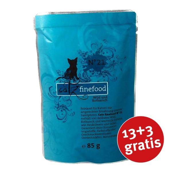 CATZ Finefood - No. 21 Wild & Rotbarsch