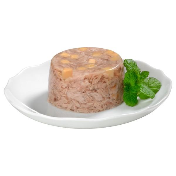 GimCat ShinyCat in Jelly Thunfisch mit Käse