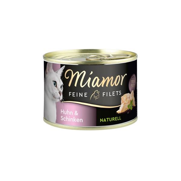 Miamor Feine Filets Naturell Huhn & Schinken