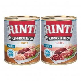 Rinti Kennerfleisch JUNIOR Mixpaket 24x800g