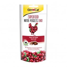 GimCat Superfood Nutri Pockets Huhn&Cranberry