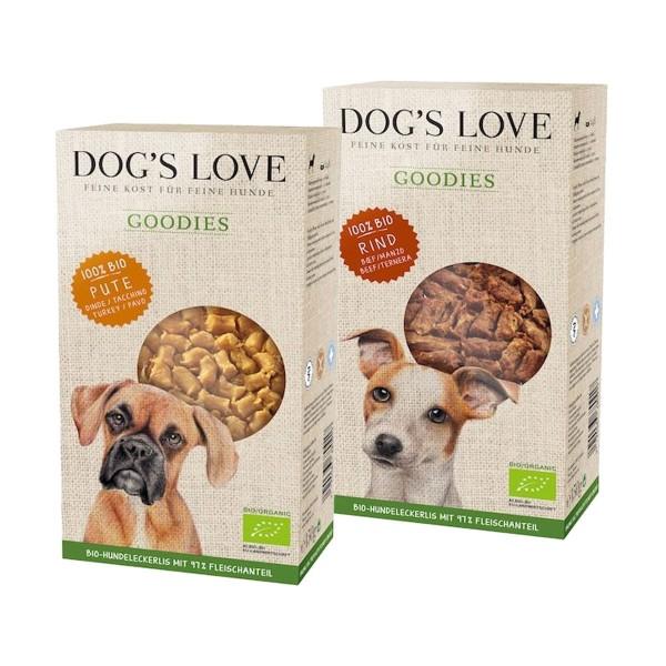 Dog's Love Hundesnacks Goodies 2x150g