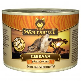 Wolfsblut Cebrana Small Breed mit Zebra