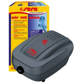 Sera Air 110 plus Membranluftpumpe für Aquarien