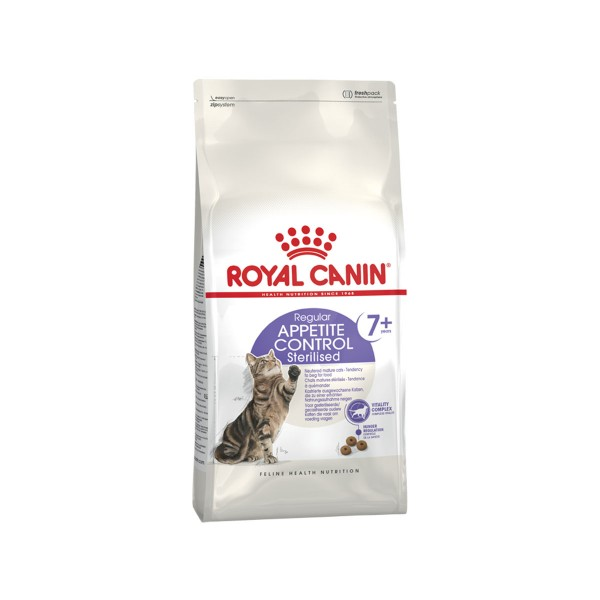 Royal Canin Katzenfutter Sterilised Appetite Control 7+