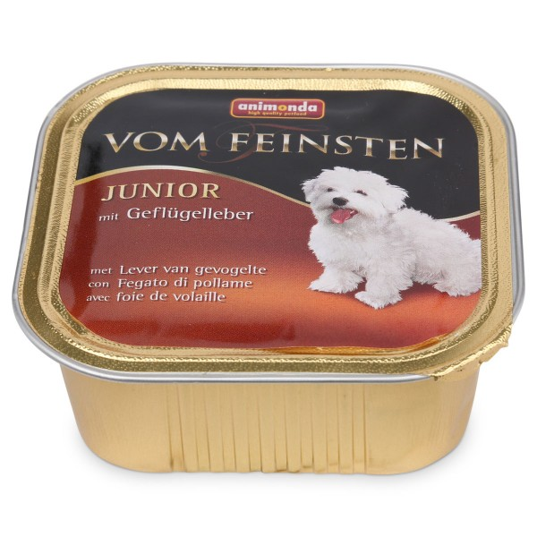 Animonda Hundefutter Vom Feinsten Junior Geflüg...