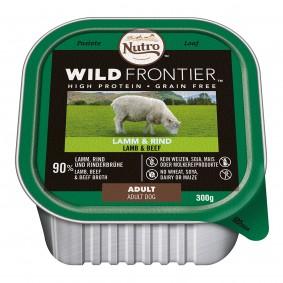 Nutro Adult Wild Frontier jehněčí a hovězí