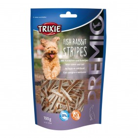 Trixie PREMIO Fish Rabbit Stripes 100g