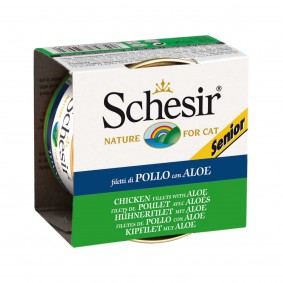 Schesir Cat Senior Huhn 85g