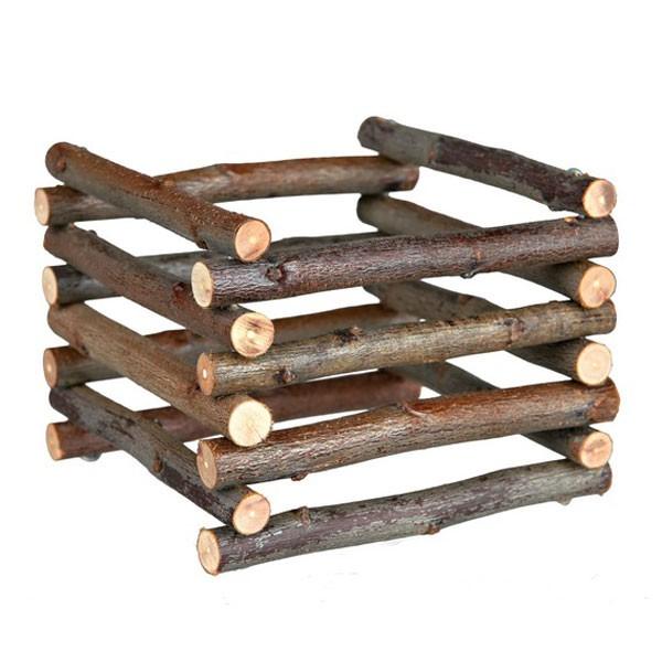 Trixie Heuraufe zum Aufstellen aus Naturholz