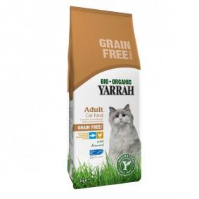 Yarrah Katzenfutter Bio Huhn & Fisch Getreidefrei