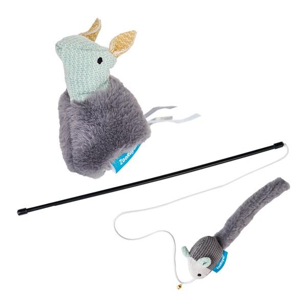 ZooRoyal Spielzeug-Set für Katzen