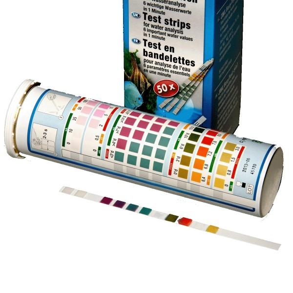 JBL EasyTest 6 in 1 Aquarium-Teststreifen