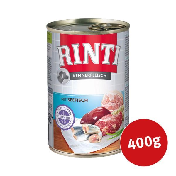 Rinti Nassfutter Kennerfleisch mit Seefisch