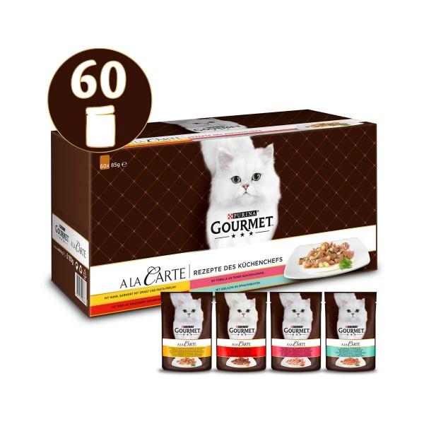 GOURMET A la Carte Rezepte des Küchenchefs Mixpaket