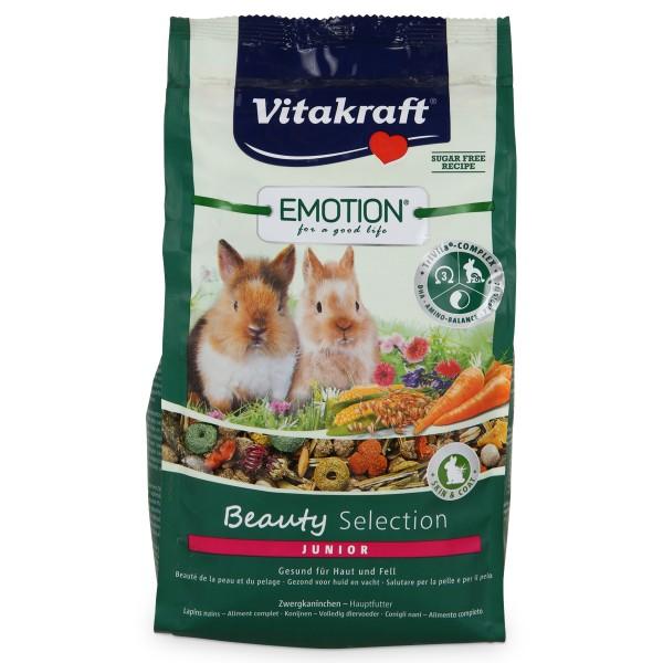 Vitakraft Emotion Beauty Selection Junior Zwergkaninchen 600g