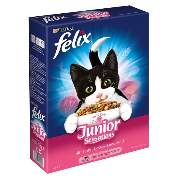 Felix Junior Sensations 1kg