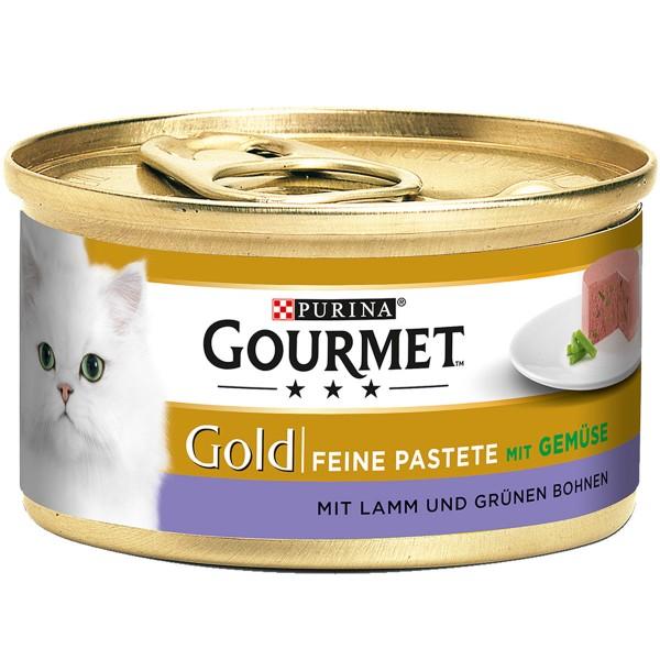 Gourmet Gold Feine Pastete Lamm&Grüne Bohnen - ...