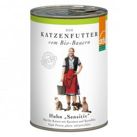 Defu Katzenfutter Bio Huhn Gluten- & Getreidefrei