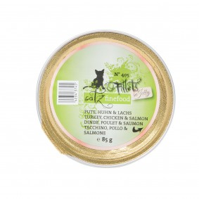 catz finefood Fillets N°405 Pute, Huhn & Lachs in Jelly