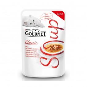 GOURMET Soup Classic Thunfischfilet und Sardellen in Brühe 40g