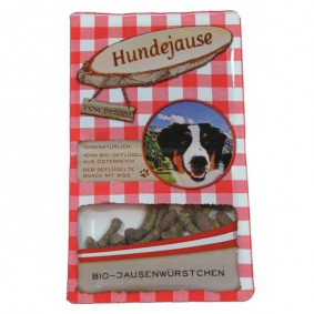 Hundejause Hundesnack Bio JausenWürstchen 90g