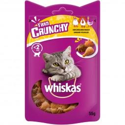 Whiskas Trio Crunchy Treats Geflügelgeschmack