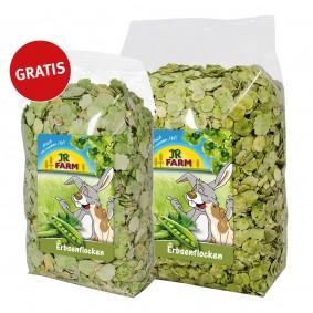 JR Farm Erbsenflocken 1 kg +200g Gratis