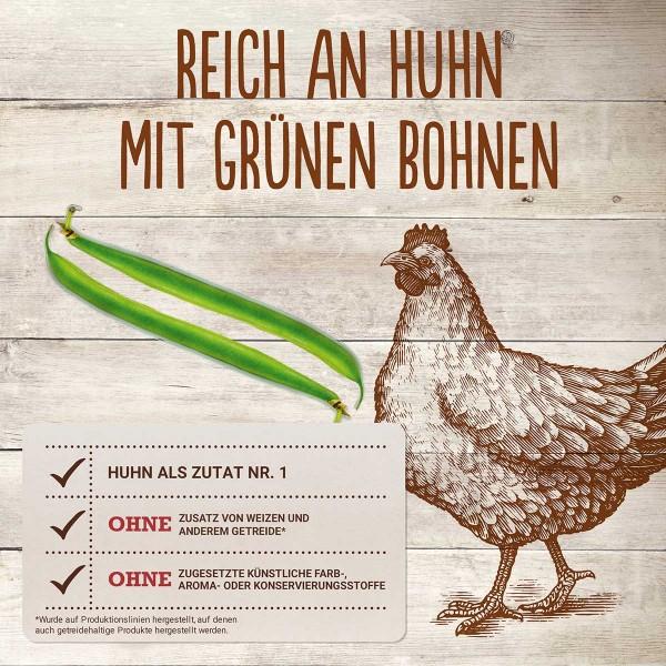 Purina BEYOND® Getreidefrei reich an Huhn mit grünen Bohnen
