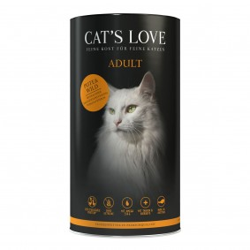 Cat's Love Adult krůta a zvěřina, 1 kg