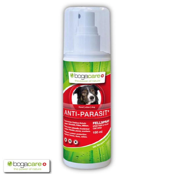 bogacare ANTI-PARASIT Fellspray für Hunde