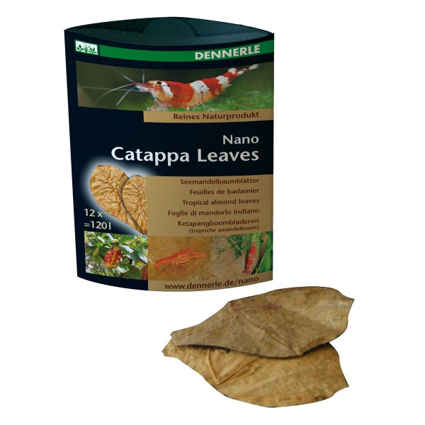 Dennerle Nano Catappa Leaves 12 Stück
