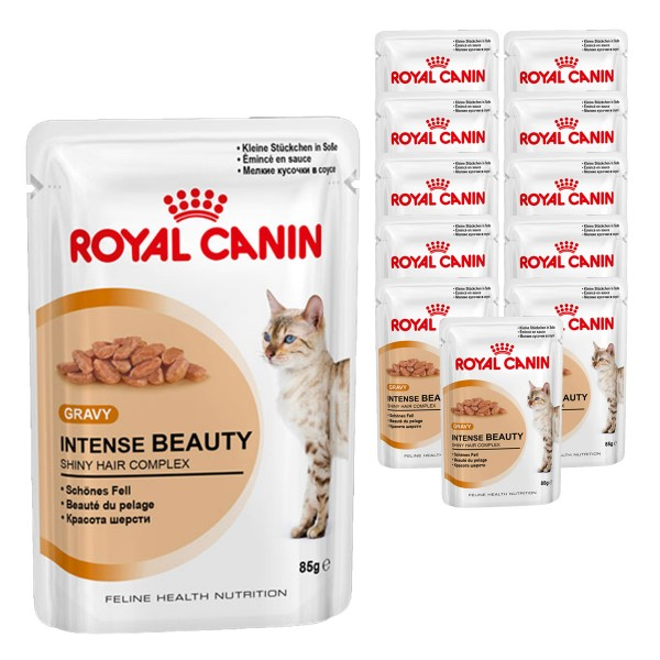 Royal Canin Katzenfutter Intense Beauty in Soße 12x85g