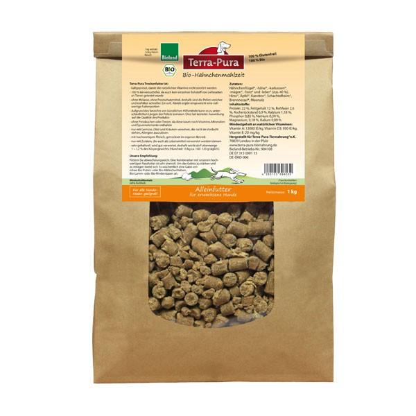 Terra Pura Hundefutter Bio Hähnchenmahlzeit