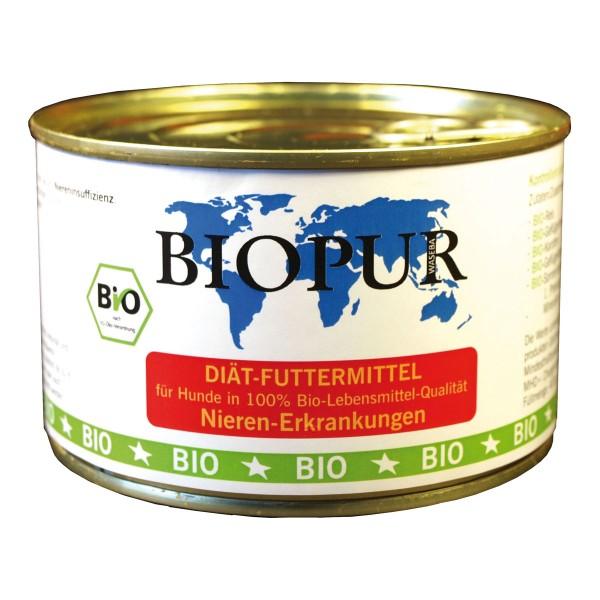 BiOPUR Hundefutter Bio Nieren-Erkrankungen 12x400g